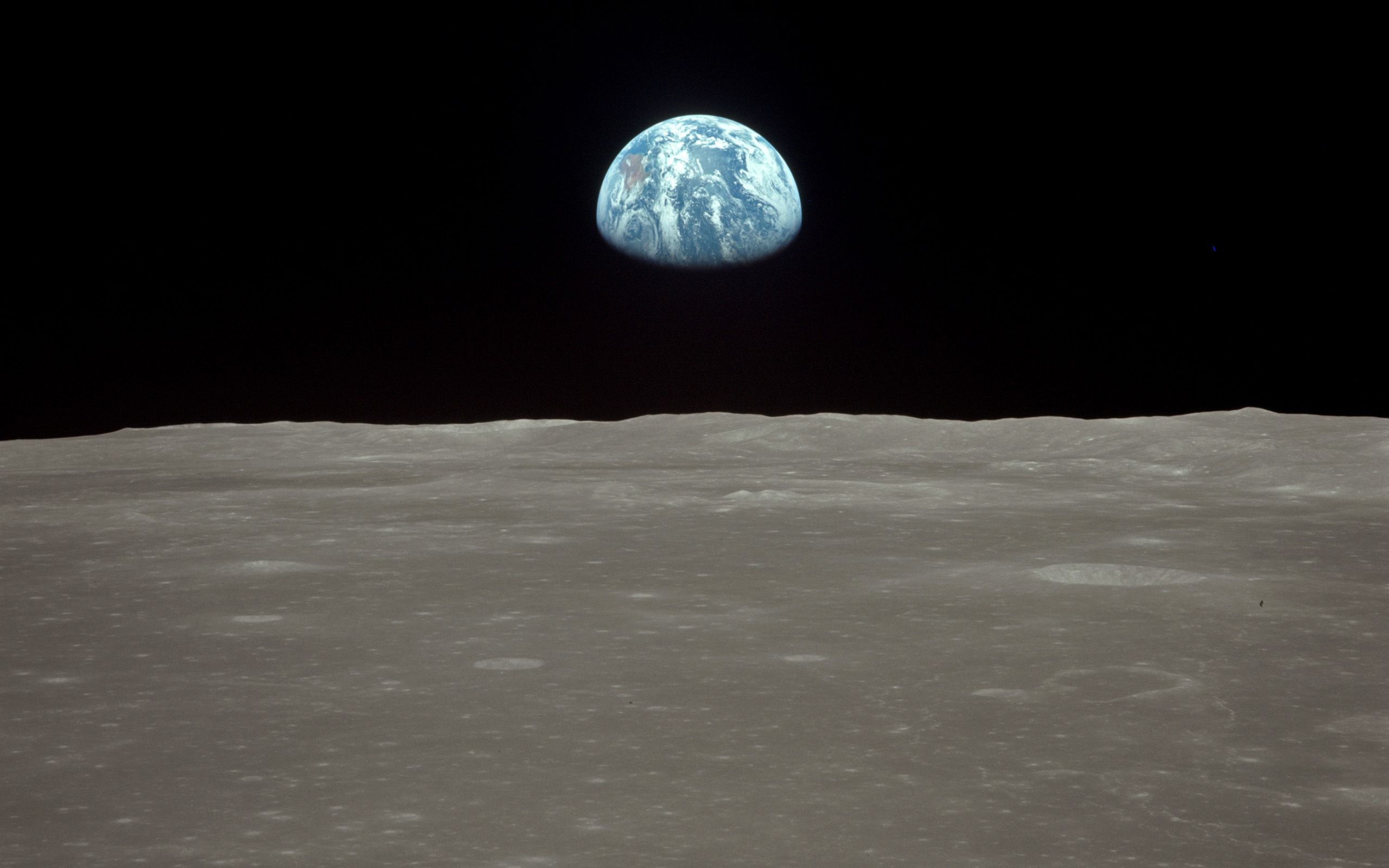 earthrise from apollo 8 – seeing our fragile planet from the
