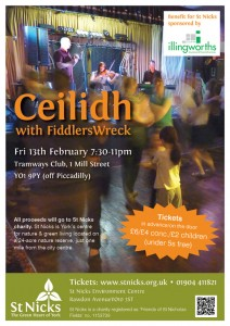poster for the Ceilidh
