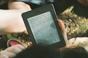 An e-reader is a popular choice for holiday-makers and commuters.
