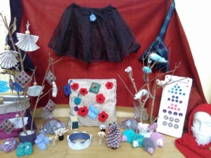 Some of the items Eco-Crafters have made