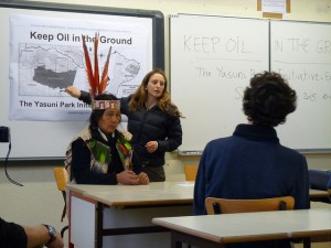 Message from the Amazon: keep oil in the ground