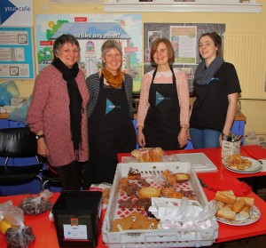 yourcafe team at St Nicks Open Day on 30th January 2016 (by Lewis Outing)