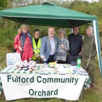 Fulford Community Orchard stall