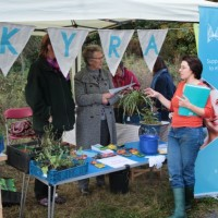 Kyra Women's Project and Greenfields stall (by L. Outing)