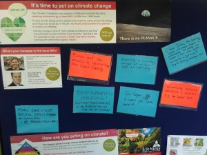 Climate Speak Up messages