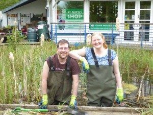 Nick and Harriet, former Park Rangers at St Nicks