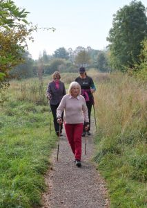 Nordic walking at St Nicks (by L Outing)