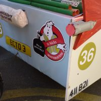 back of the soapbox cart