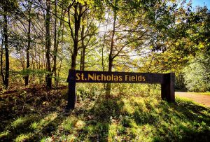 St Nicks entrance, by Lewis Outing
