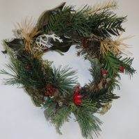 wreath made by Dave