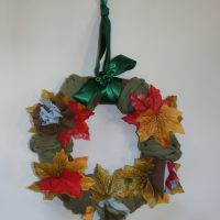 wreath made by Jan