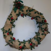 wreath made by Maureen