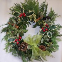 wreath made by Pam