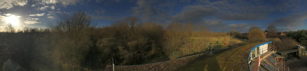 Panorama from the Centre roof
