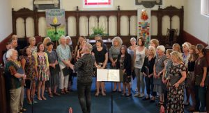 Stonegate Singers choir, by Lewis Outing