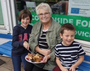 Autumn Fayre 2018 Bake Off judges, by L. Outing