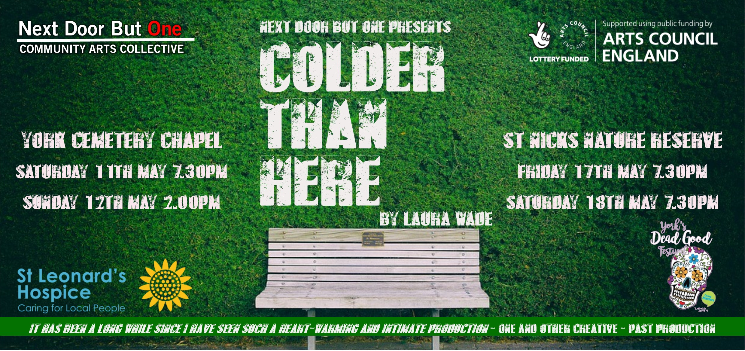 Colder Than Here flyer