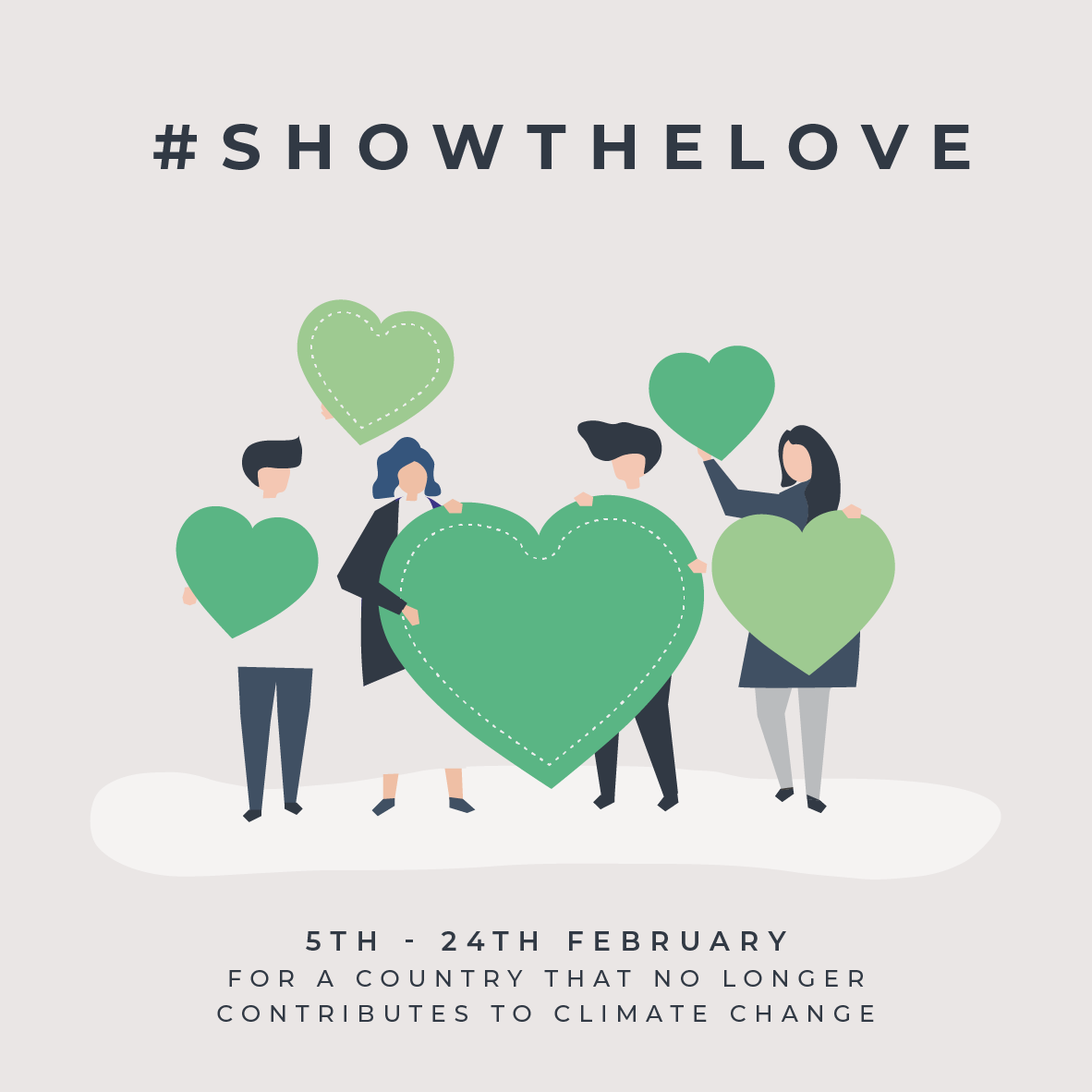 Show The Love banner