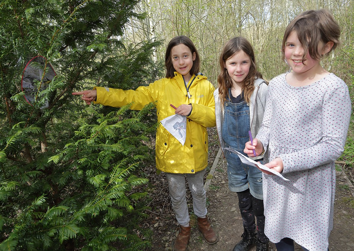 Easter Planting and Egg Hunt, by Lewis Outing