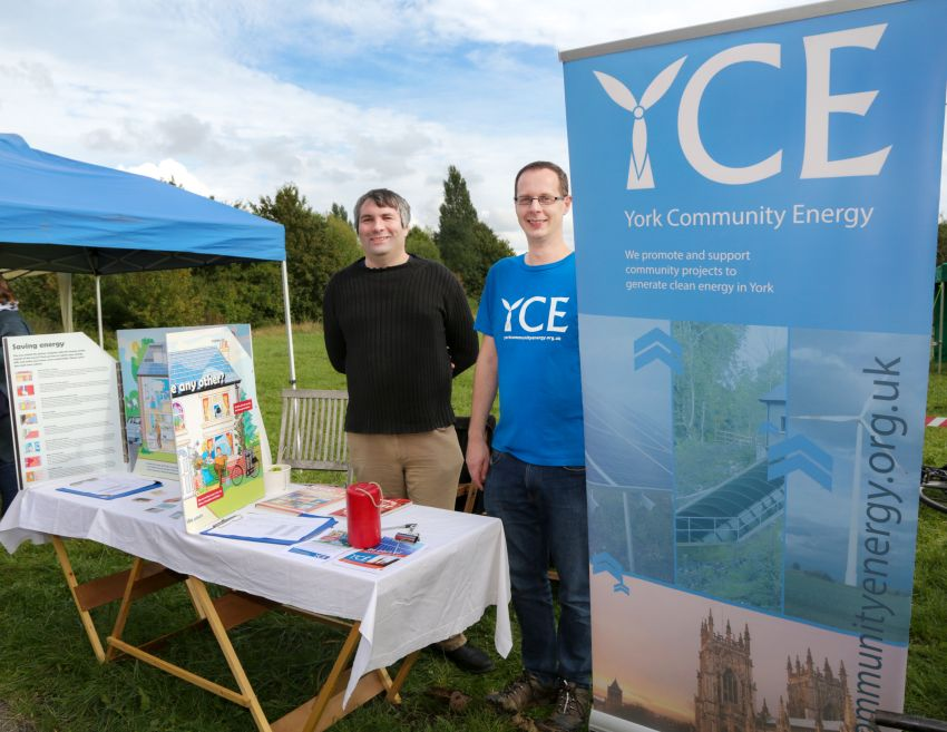 Autumn Fayre 2019 - YCE stall, by L. Outing