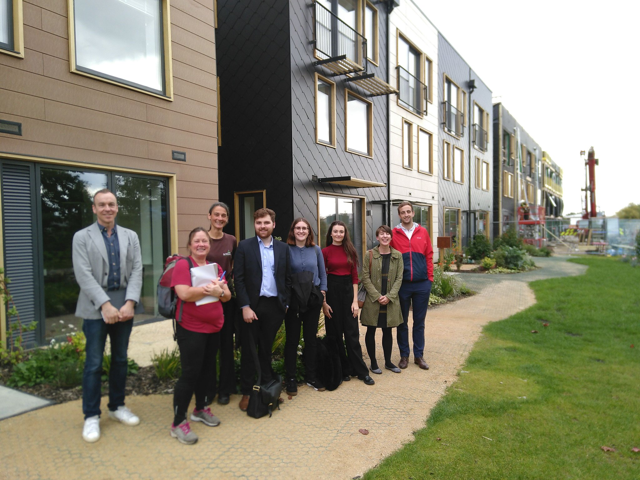 Visiting the Climate Innovation Disctrict in Leeds