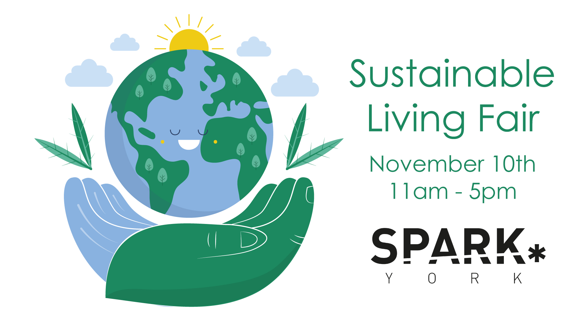 Sustainable Living Fair poster