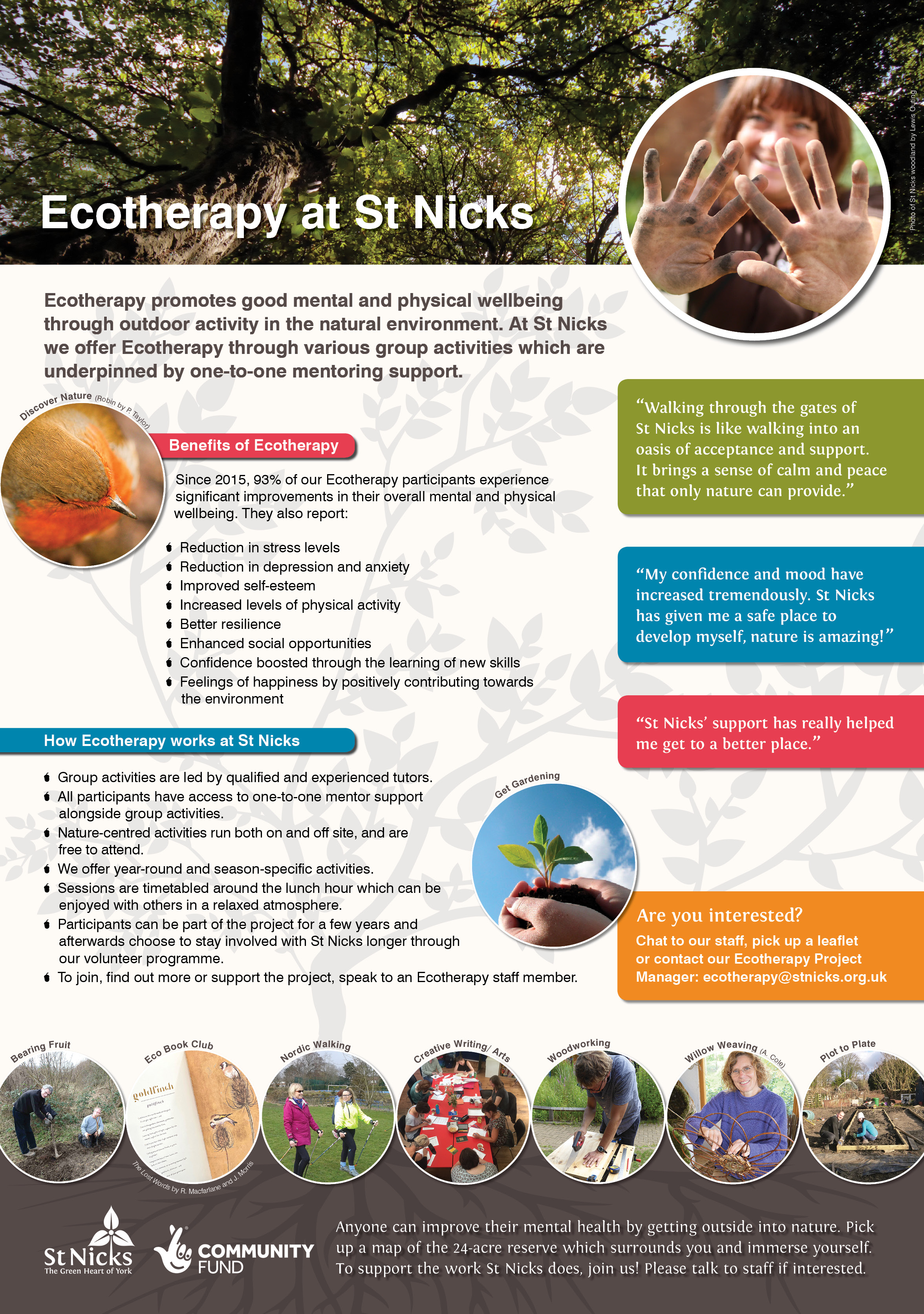 Ecotherapy poster
